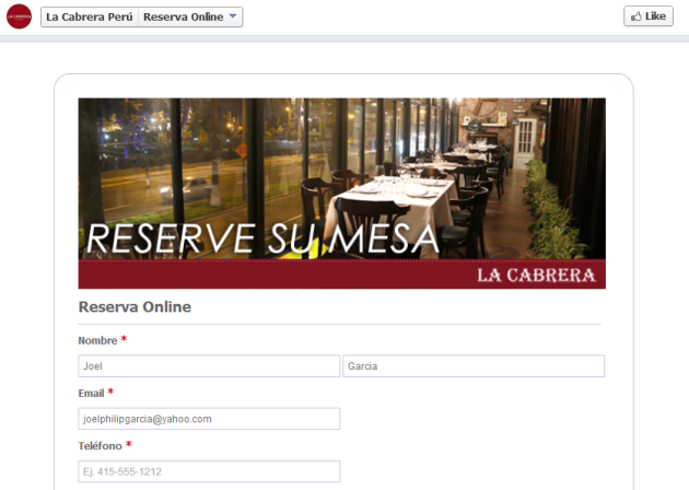 Peruvian Restaurant (4-23-14)